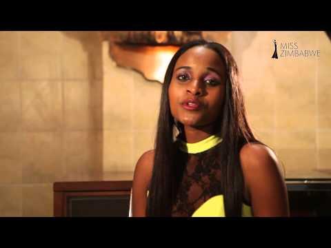 Tendai Hunda Speaking on Miss World Official YouTube Channel